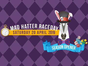 Mad Hatter raceday poster