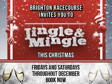 Jingle & Mingle Christmas parties promotional poster