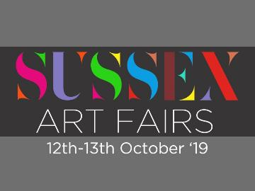 Sussex art fair promotional poster